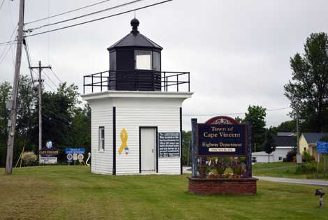Photo of Town of Cape Vincent sign