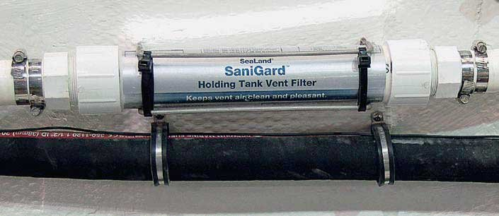 Photo of a sanitation hose