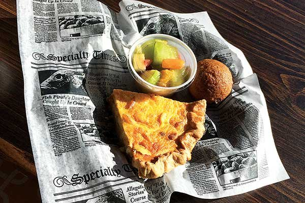 Photo of a meal from Bakes in Guntersville, Alabama