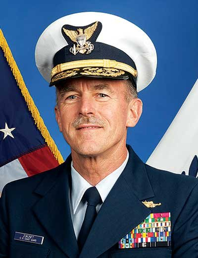 Photo of USCG Vice Admiral Paul Zukunft