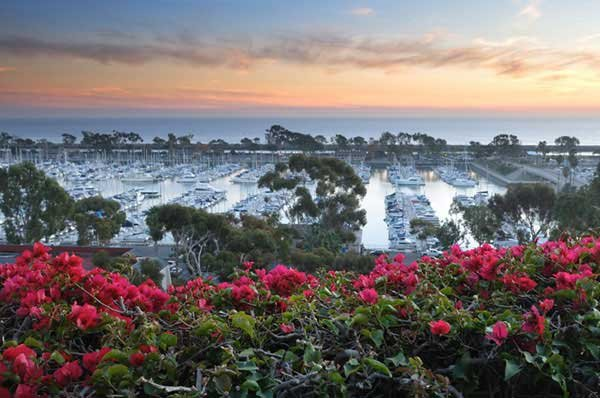 Photo of sunset at Dana Point Harbor