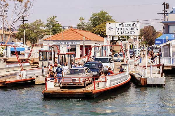 Photo of the Balboa Island ferry