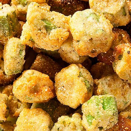 Photo of fried okra