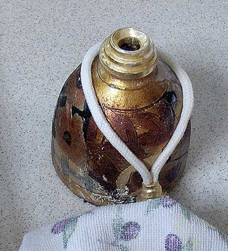 Photo of a lampe berger lantern