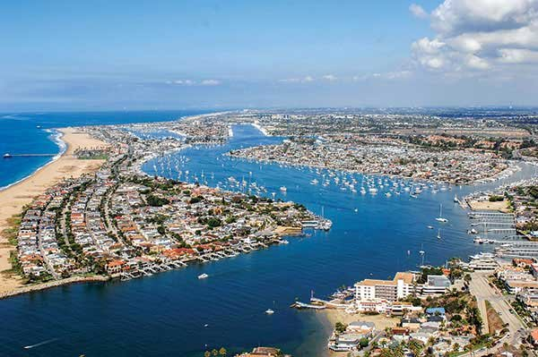 Photo of Newport Beach Harbor
