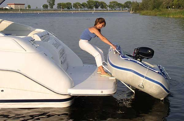 Dealing With Dinghy Davits - BoatUS Magazine