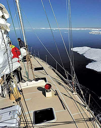 Photo of sailing Northwest Passage