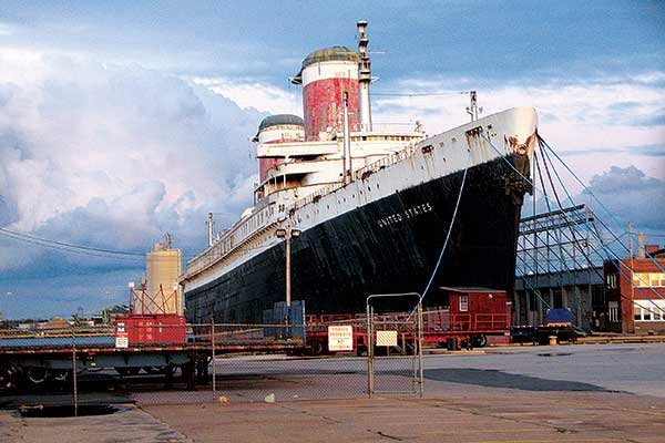 Photo of the SS United States