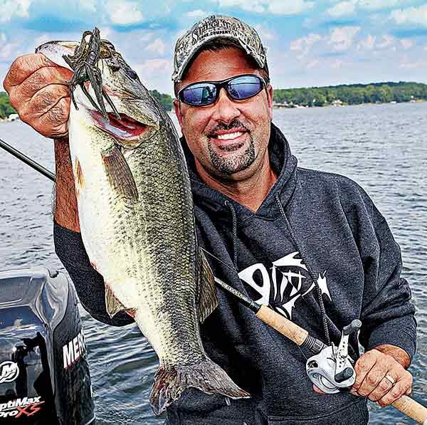 Photo of television fishing pro Mark Zona