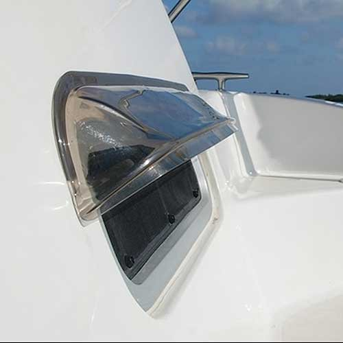 Photo of a port visor