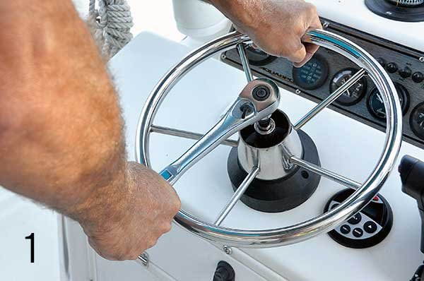Upgrade To Hydraulic Steering - BoatUS Magazine