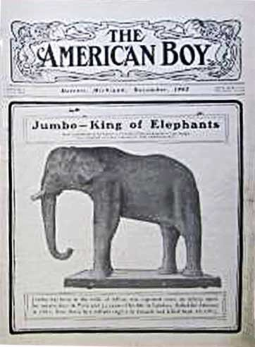 The American Boy Magazine cover