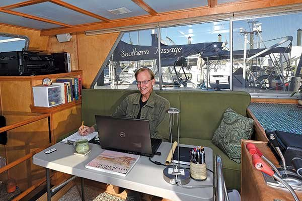 Photo of Don Hegelson in his office