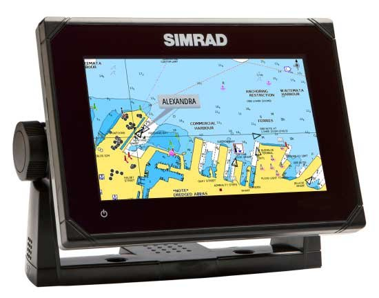 Photo of the Simrad GO7