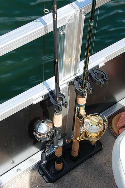 Equipping your boat for angling boatus magazine for Fishing pole holders for boats