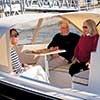 Enjoying life aboard