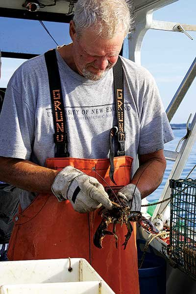 Photo of lobsterman Mark Billings