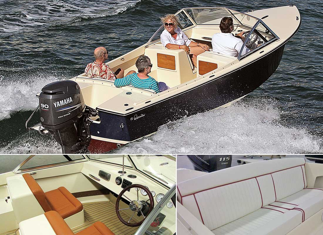 Rossiter 17 Closed Deck Runabout
