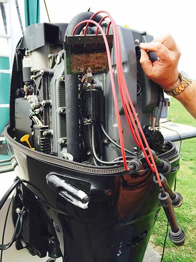 Checking Compression On An Outboard Engine BoatUS Magazine