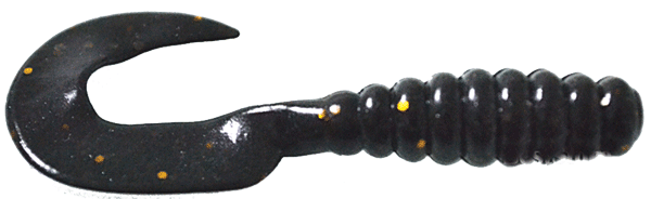 Black soft lure