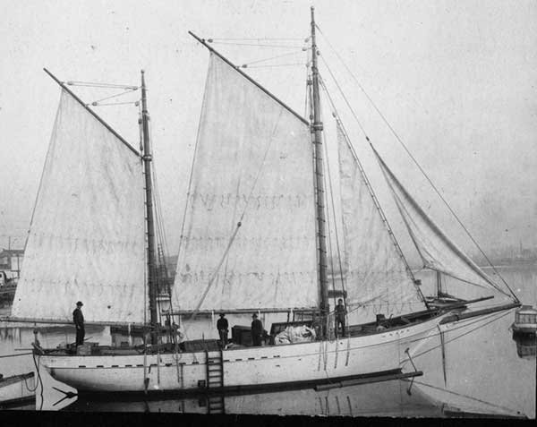 Jack London's Snark, a 55-foot cutter-rigged ketch