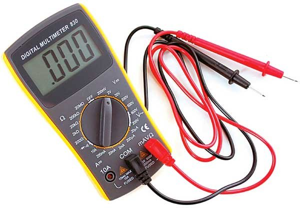 Sample multimeter