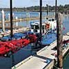 Small port dredging