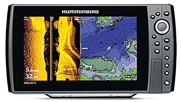 Humminbird Helix 9, 10, and 12 CHIRP