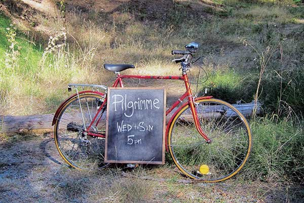 Pilgrimme Restaurant sign