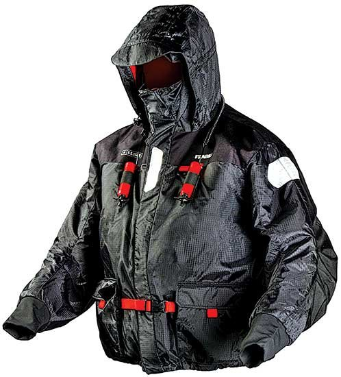 Fishing gear innovations boatus magazine for Frabill ice fishing suit