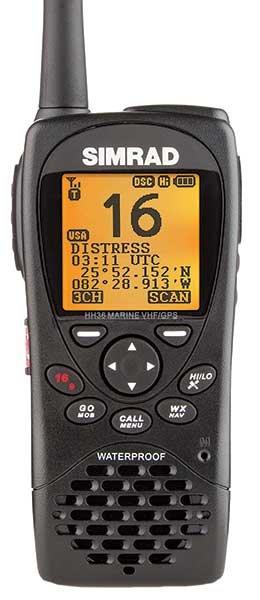 Simrad HH36 Handheld VHF Radio