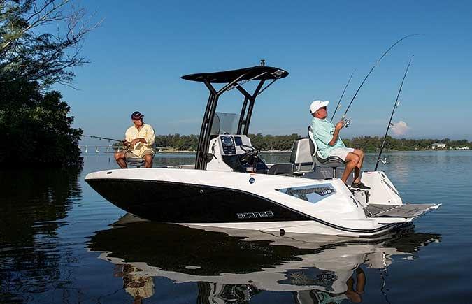 New small boats deliver big fun boatus magazine for Scarab 195 open fish