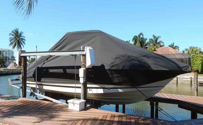 SwiftShield boat covers from Sunstream Boat Lifts