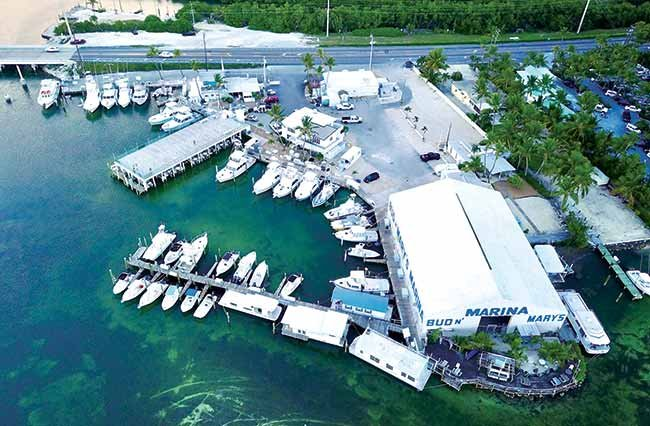 Bud N' Mary's Marina before Hurricane Irma