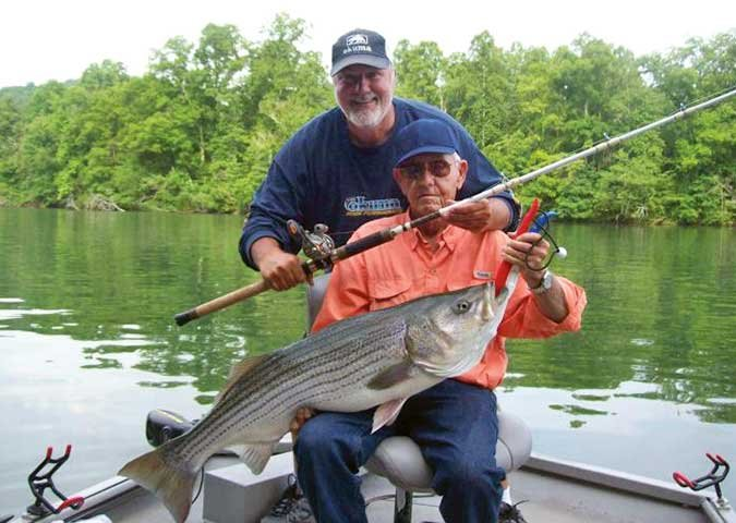 Monster stripper catch on the Tennessee River