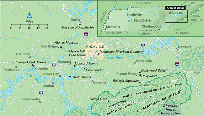 Fishing The Tennessee River Monsters Myths And Great - Tn river map
