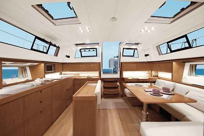 Beneteau Sense 51 galley