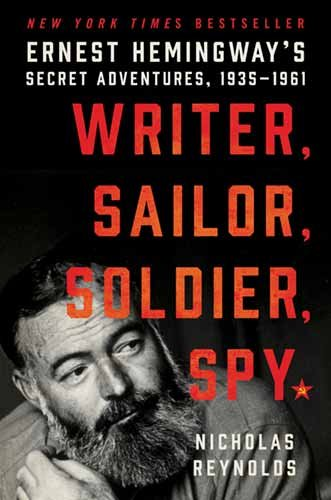 Writer, Sailor, Soldier, Spy book cover