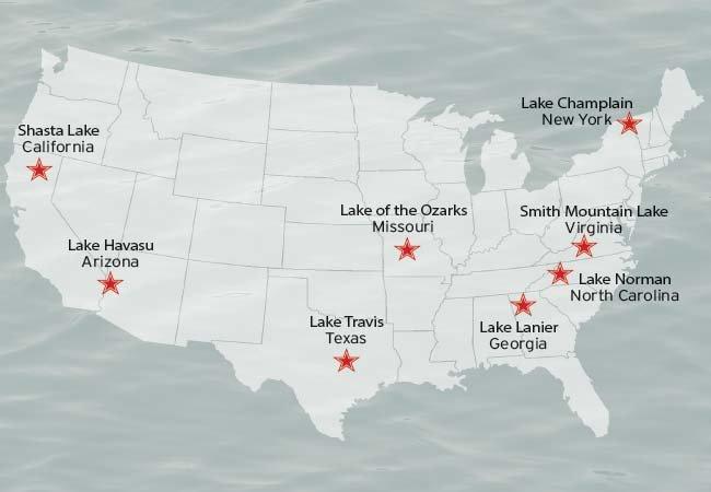 Boating On Americas Freshwater Lakes BoatUS Magazine