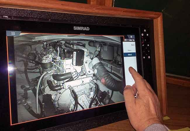 Engine room camera