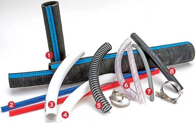 Boat hoses