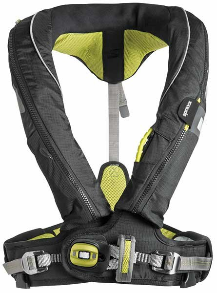 Life vest with harness