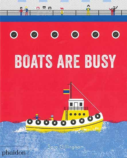 Boat Are Busy children's book cover