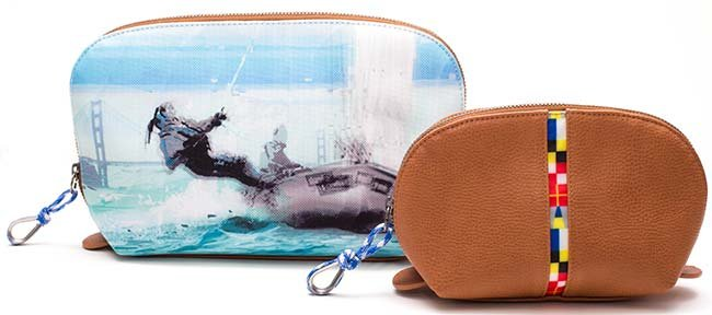 Sailing-inspired beauty cases