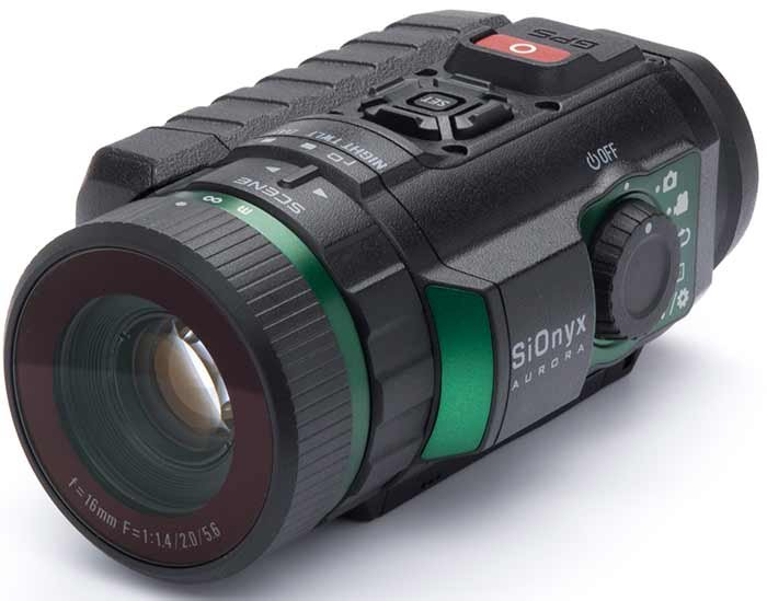 SiOnyx Aurora water-resistant hi-definition camera