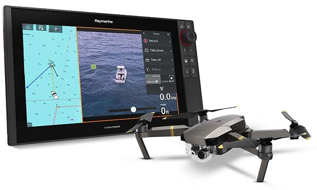 Raymarine Axiom with UAV integration