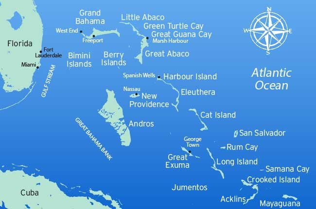 Map Of Florida And Bahamas A Boater's Guide To Cruising The Bahamas   BoatUS Magazine