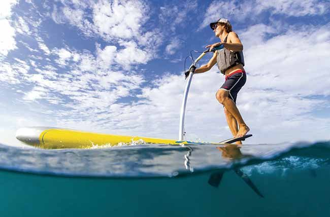 Hobie Mirage Eclipse pedal-powered stand-up paddleboard