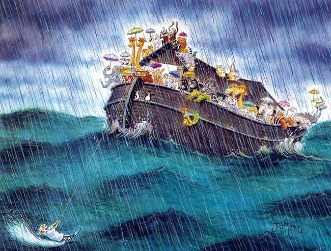 Noahs Ark illustration