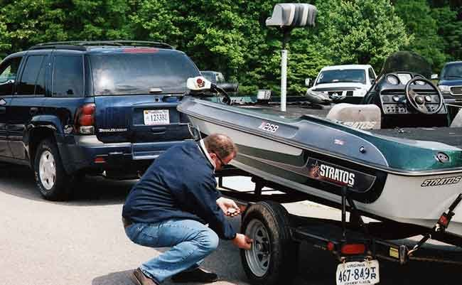 Top 5 Causes For Ontheroad Boat Trailer Breakdowns Boatus Magazinerhboatus: Car Top Boat Trailer At Cicentre.net